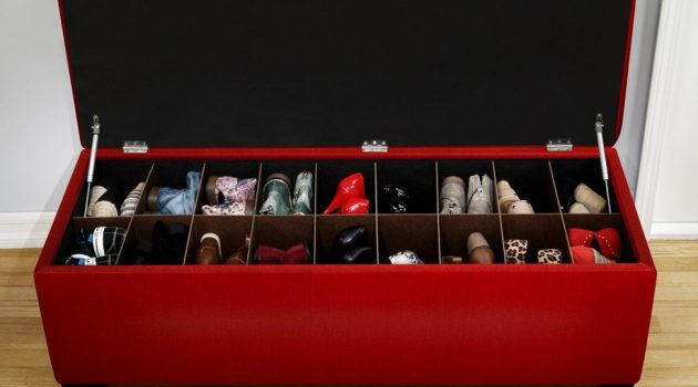 17 Magnificent DIY Shoe Storage Ideas For Effective Organization Of The Space