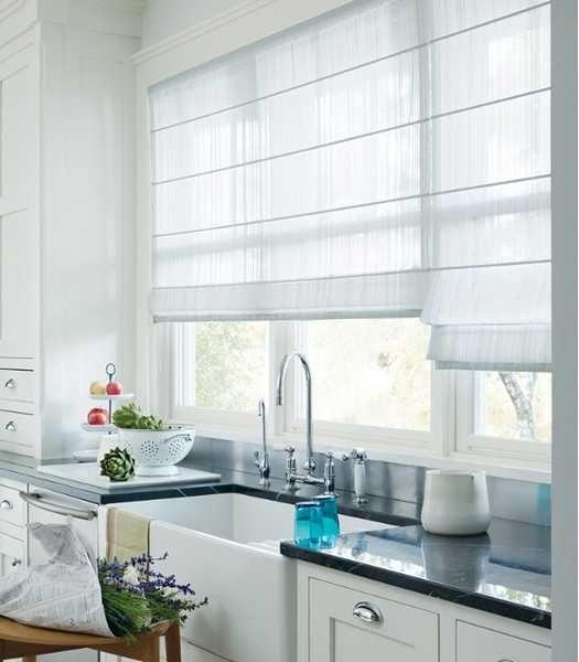 Как правильно выбрать кухонные шторы