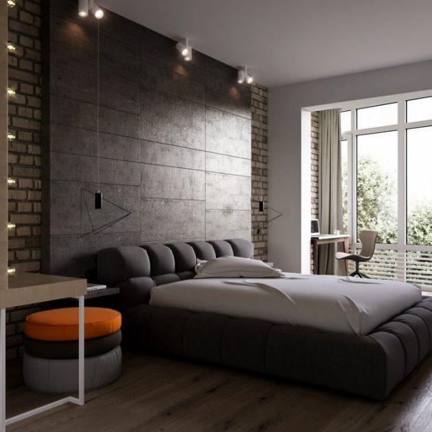 19 captivating modern bedrooms that will leave you speechless. Black Bedroom Furniture Sets. Home Design Ideas
