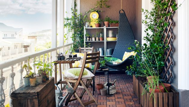 17 Attractive Small Balcony Designs That Everyone Will Adore