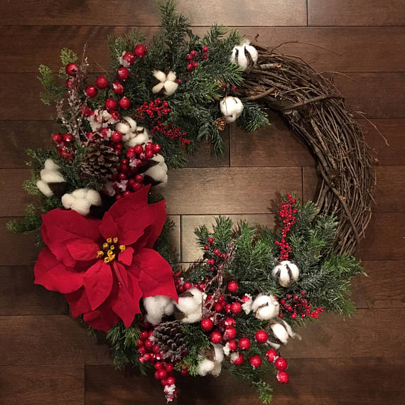 15 Alluring Handmade Christmas Wreath Designs That Will