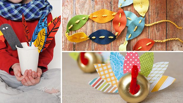 15 Amusing Thanksgiving Crafts Your Kids Will Enjoy Making