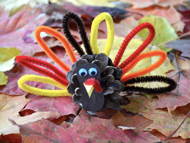 15 Amusing Thanksgiving Crafts Your Kids Will Enjoy Making