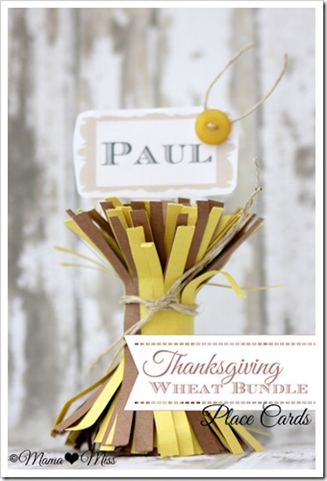 15 Awesome DIY Thanksgiving Table Decor Projects Your Kids Can Help Out With