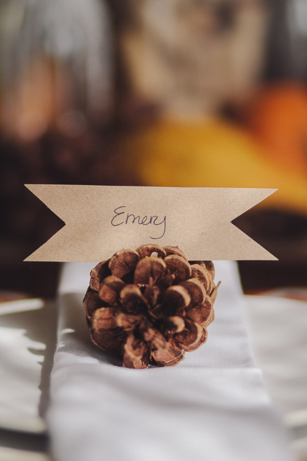 15 Creative DIY Place Cards That You Should Consider Using This Thanksgiving