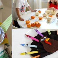16 Joyful Thanksgiving Decor Ideas For The Kids' Table