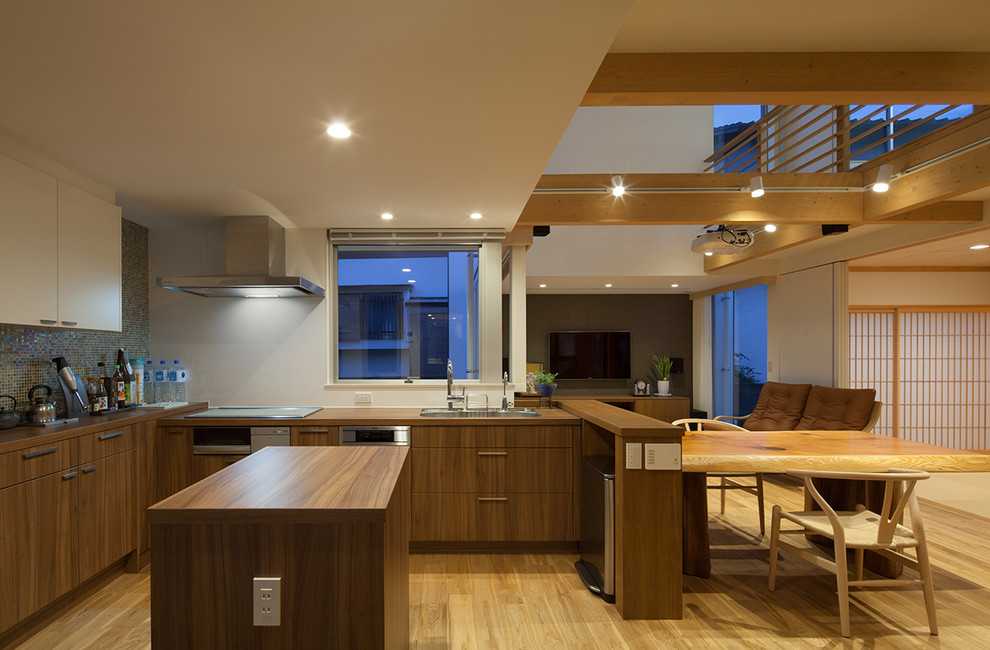 style Asian house
