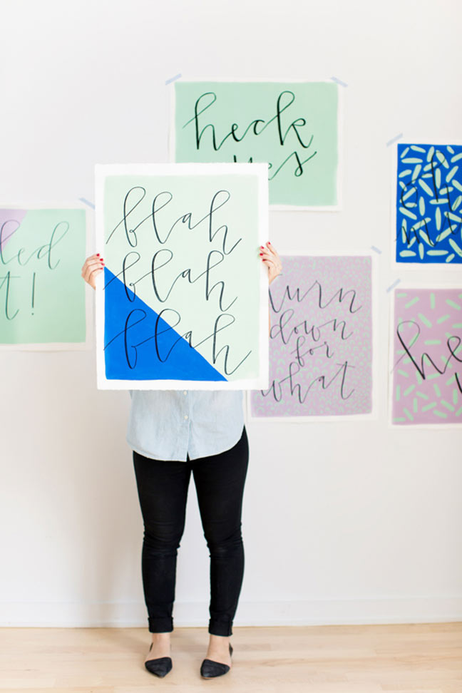 17 Easy DIY Wall Art Projects That Won't Take You More Than 2 Hours To Make