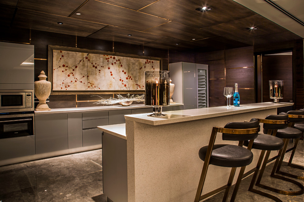17 Elegant Asian Home Bar Designs You