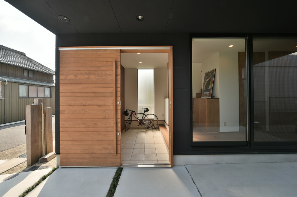 Modern House Entrance Entryway