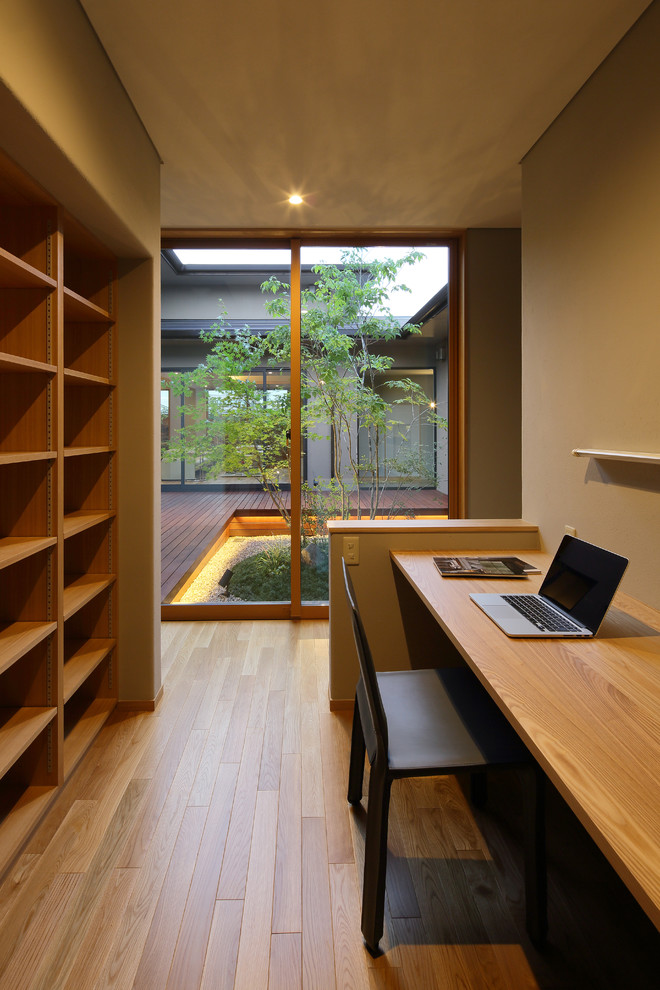 20 Sophisticated Asian Home Office Designs That Are As