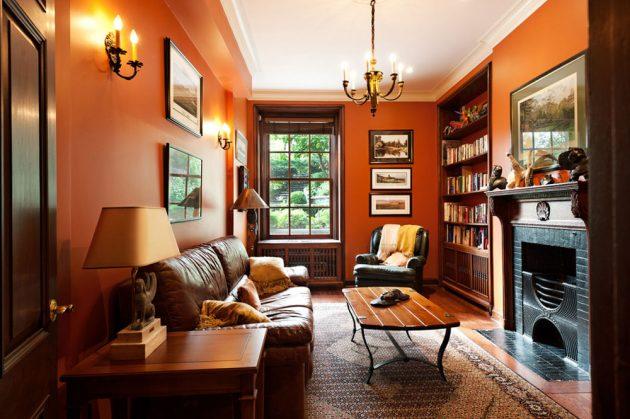 Autumn Refreshment In The Home- 16 Orange Interior Designs
