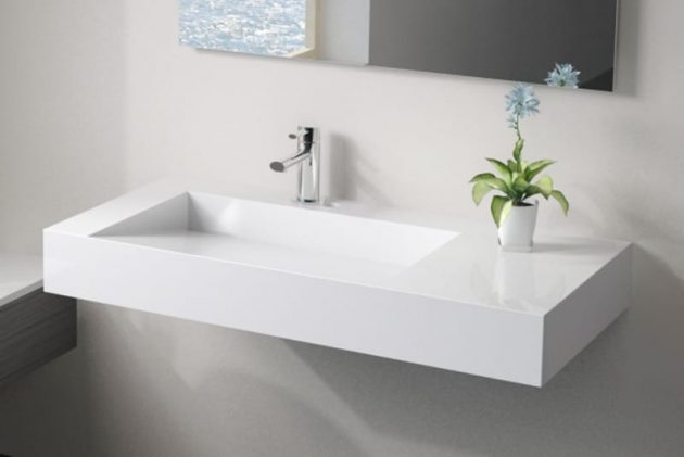 Small Wall Hung Bathroom Sinks