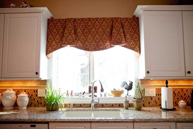 Kitchen Sink Window Treatments Valances