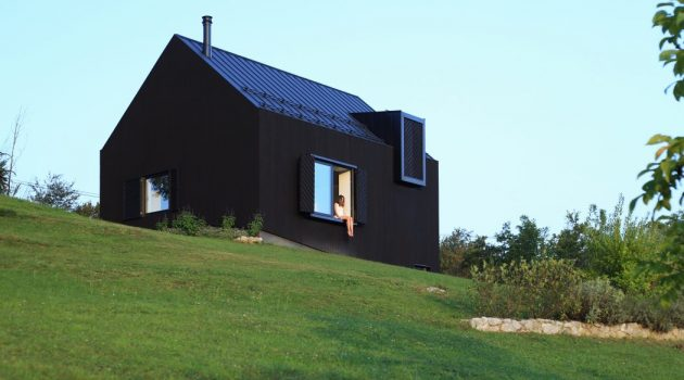 Black Lodge by Tomislav Soldo in the Croatian Countryside