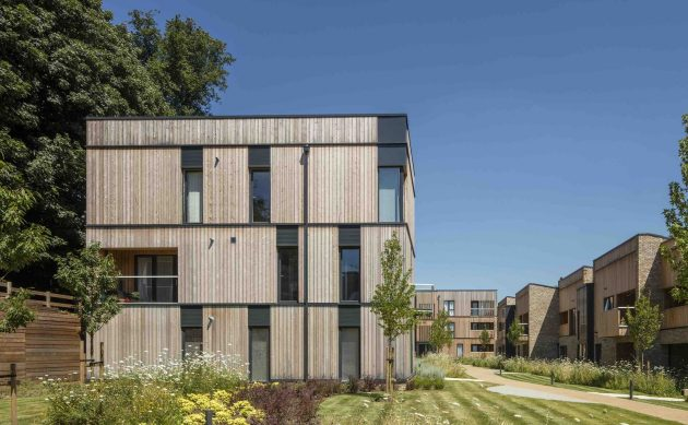 Clock House Gardens by Stockwool in Hertfordshire, England