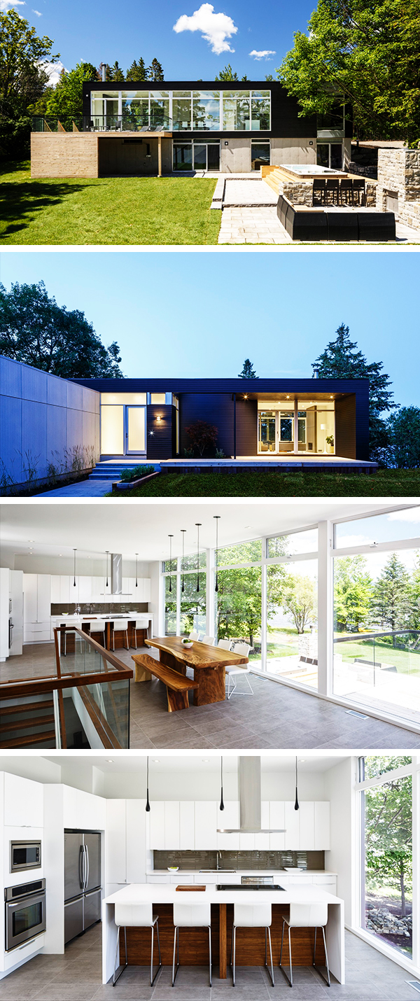 Dunrobin Shore Residence by Christopher Simmonds Architect in Ottawa, Canada