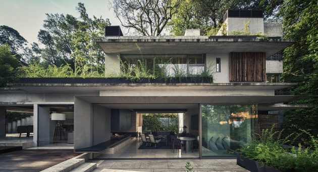 House Maza by CHK Arquitectura in Valle de Bravo, Mexico