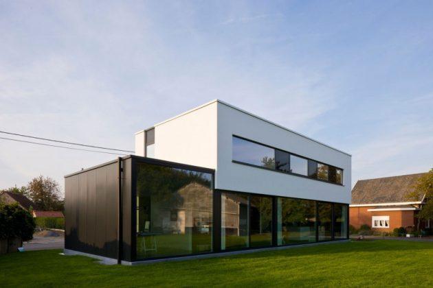 House WR by Niko Wauters in Keerbergen, Belgium