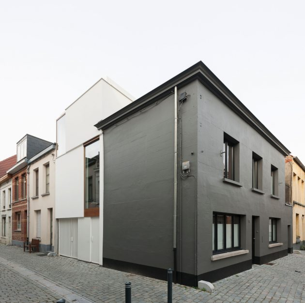 LKS House by P8 Architecten in Lier, Belgium