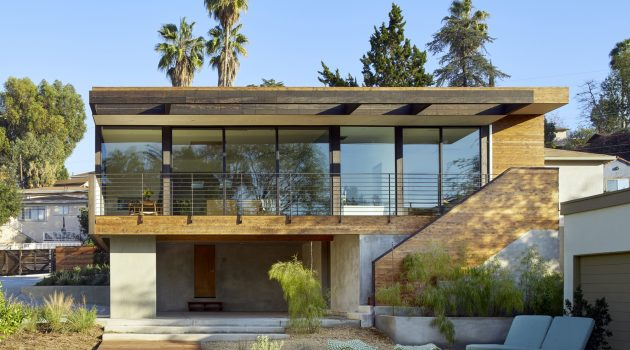 Morris House by Martin Fenlon Architecture in Los Angeles, California