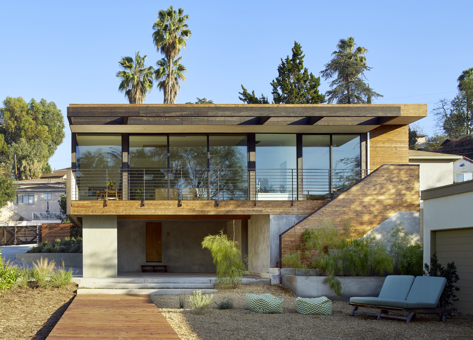 Morris House By Martin Fenlon Architecture In Los Angeles