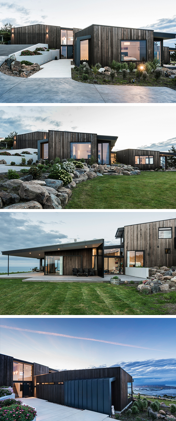 Mt Pleasant Home by Cymon Allfrey Architects in New Zealand