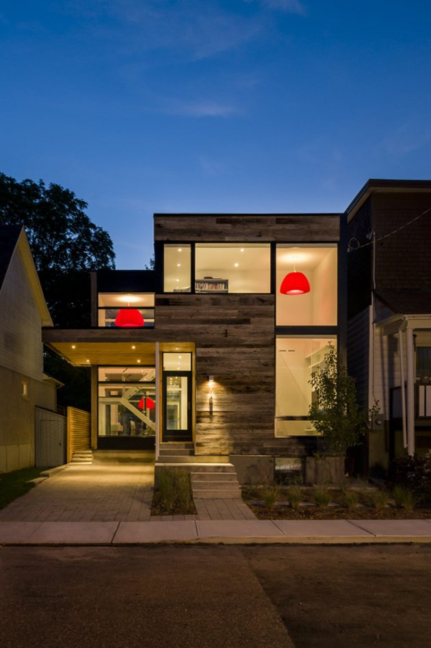 New Edinburgh House by Christoper Simmonds Architect in Ottawa, Canada