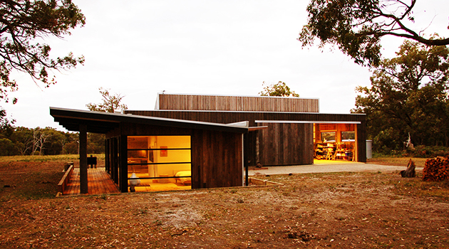 The Uber Shed By Jost Architects In Victoria Australia