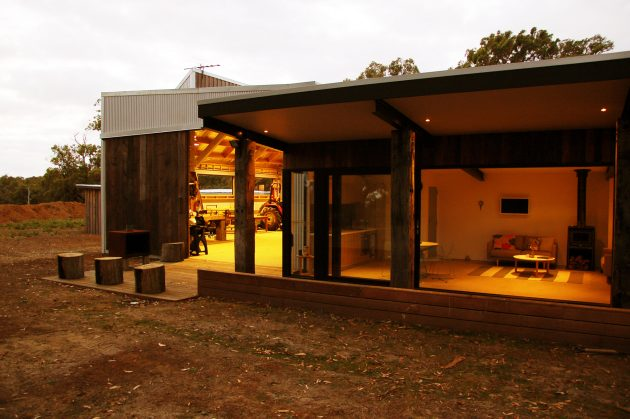 The Über Shed by Jost Architects in Victoria, Australia