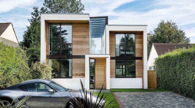 Wrap House by OB Architecture in London, UK