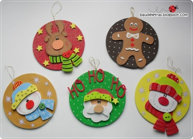 15 Last Minute DIY Christmas Decorations Made Of Old CD Discs