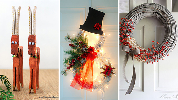 15 cute diy christmas decorations you need to craft - Cute Diy Christmas Decorations