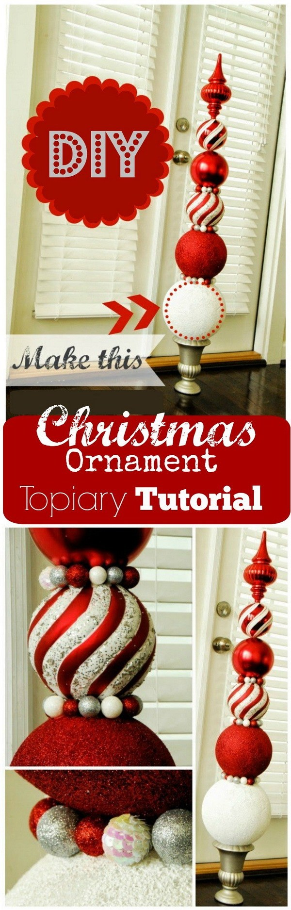 15 Simple And Easy Last Minute Diy Christmas Decorations You Must See,Square Kitchen Layout