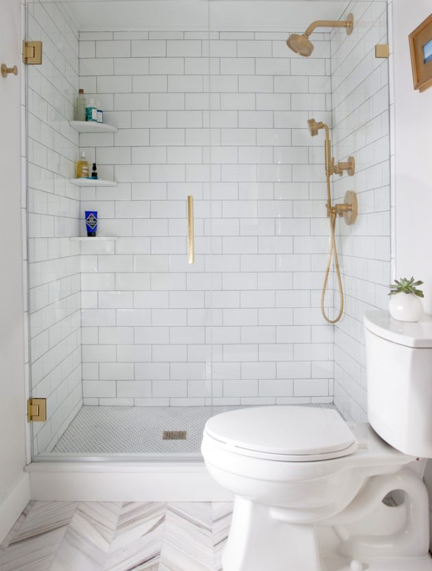 16 Excellent Examples For Decorating Functional Small Bathroom