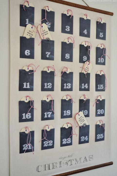 16 Adorable DIY Advent Calendar Ideas To Include In Your Festive Decor
