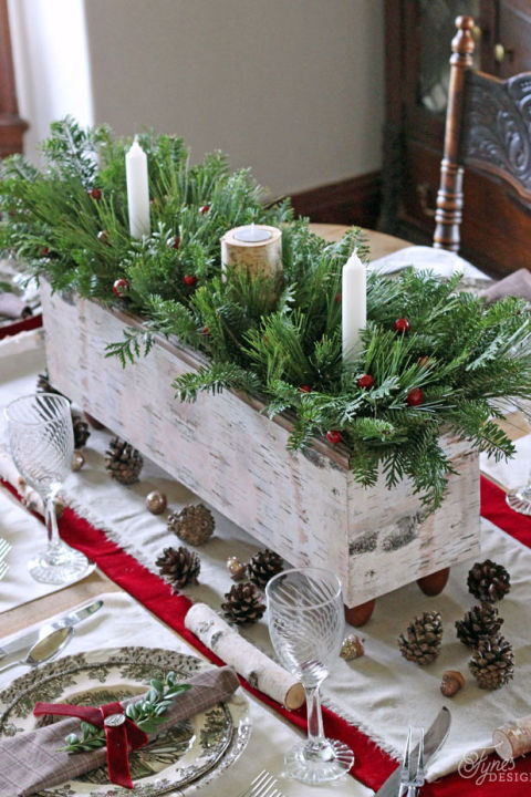 16 blissful christmas table decor ideas that you must see - How To Decorate A Christmas Table