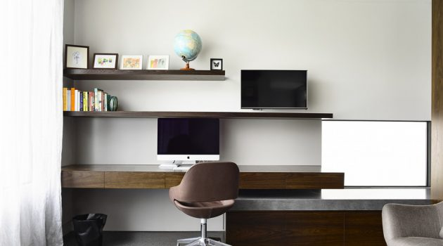 16 Prodigious Modern Home Office Interiors You Won't Stop Working In