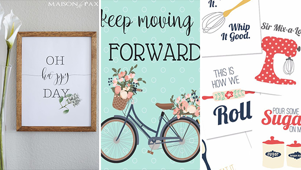17 Awesome Free Printables That Will Refresh Your Wall ...