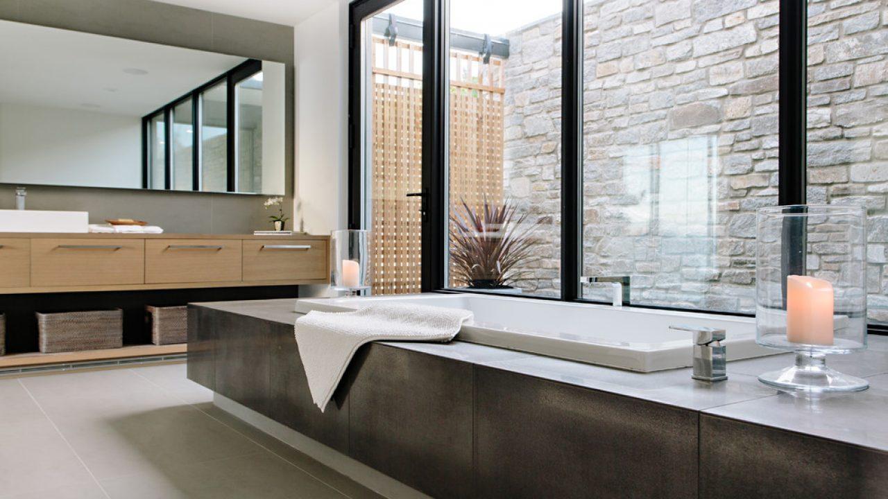 . 18 Sleek Modern Bathroom Designs You ll Fall In Love With