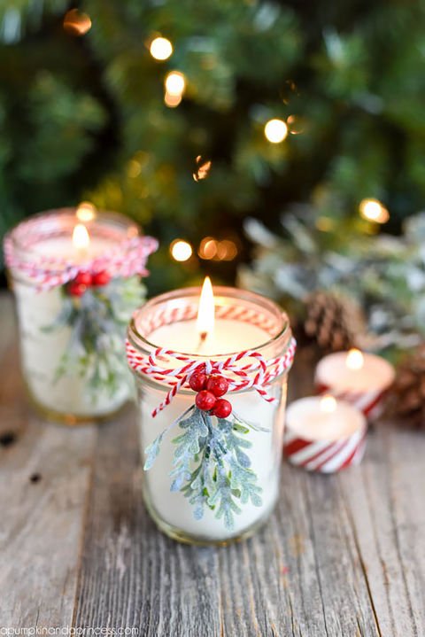 18 wonderful diy christmas mason jar ideas you should craft - Christmas Jar Decorations