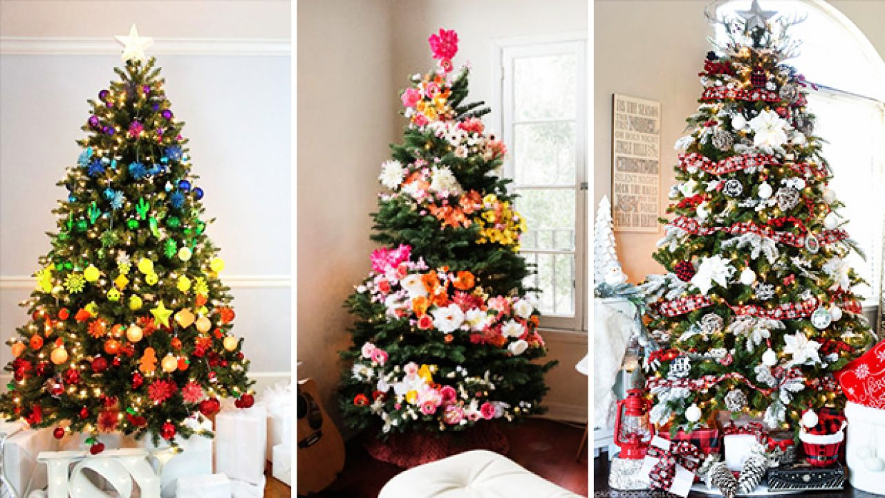 22 Sparkling Christmas Tree Decorating Ideas You Ll Lose