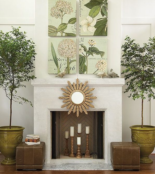 17 Outstanding Ideas To Dress Up Your Non-Working Fireplace