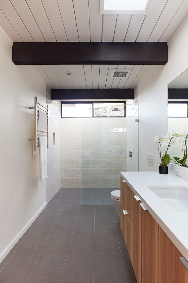 Mid Mod Eichler Addition Remodel by Klopf Architecture, San Mateo, CA