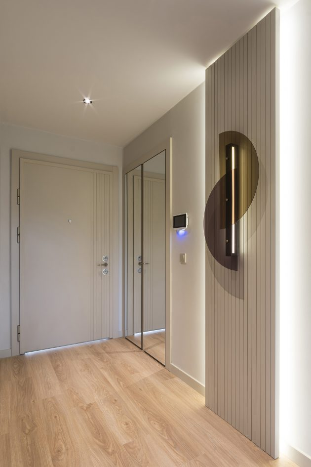 A Modern Flat Flourishing with Elegant Details: The ...