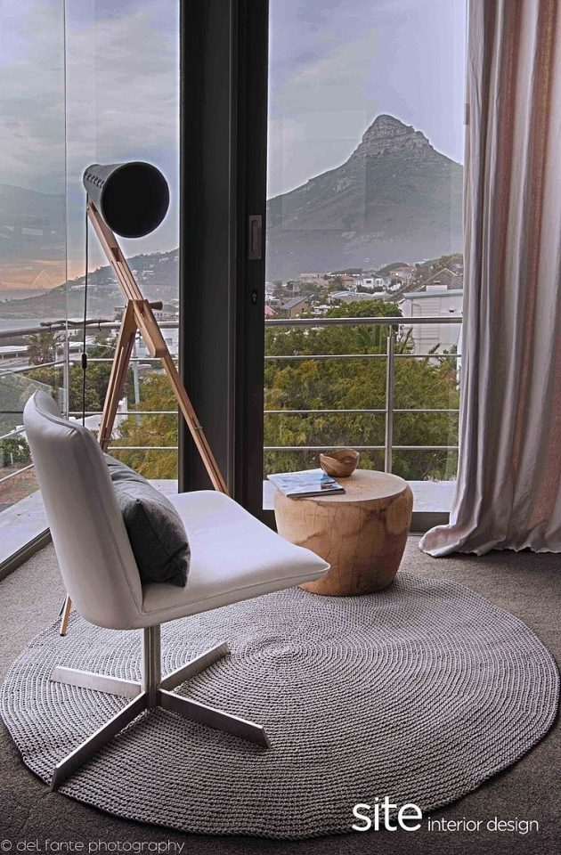 Aupiais House by Site Interior Design in Camps Bay, South Africa