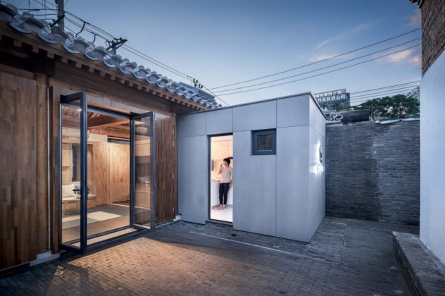 Baitasi House of the Future by dot Architects in Beijing, China