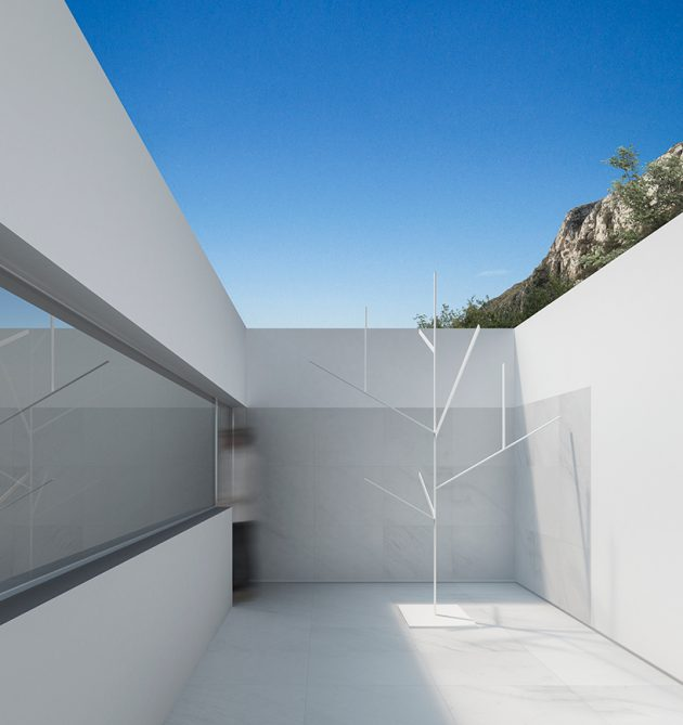 Hollywood Hills Residence by Fran Silvestre Arquitectos in Los Angeles, California