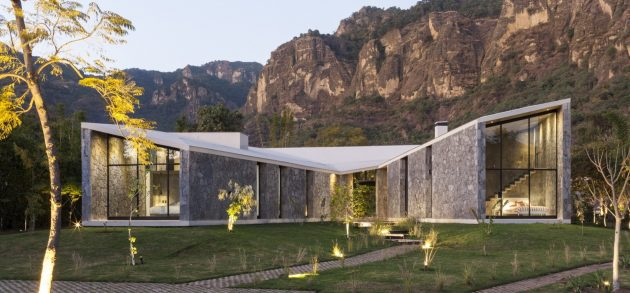 MA House by Cadaval & Solà-Morales in Tepoztlan, Mexico