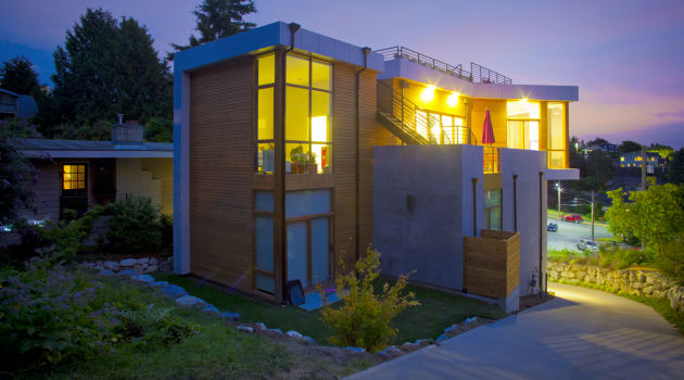 Phinney Residence by Elemental Architecture in Seattle, Washington
